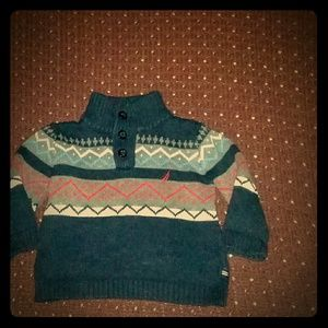 Nautica blue boys sweater size 6 - 12 mos.